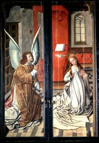 Jungfru Marie bebådelsebilder som budskapsbärare under medeltiden