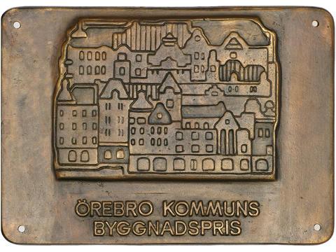 Pressinbjudan: Årets vinnare av Örebros byggnadspris utsedd