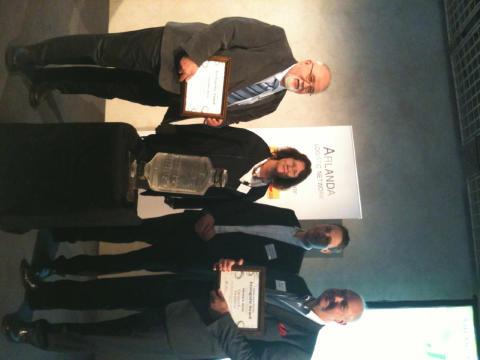 Arlandas miljötaxikoncept vann Ecologistic Award