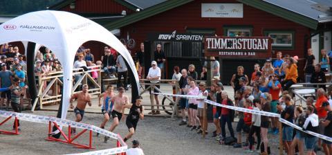 KIA Fjällmaraton Årefjällen bjöd på fartfylld publikfest på Inov-8 Sprinten!