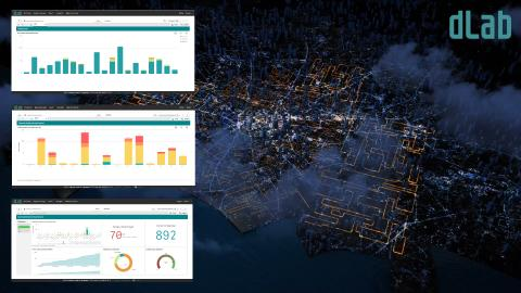 dLab launches dInsight, visualizing the status of the distribution grid
