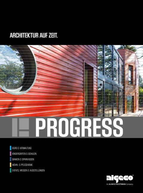 Algeco Progress - Architektur auf Zeit
