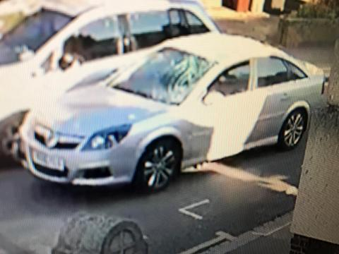 Appeal to trace car following collision