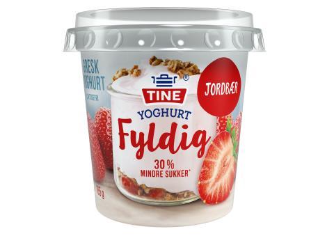 TINE Yoghurt Fyldig Jordbær