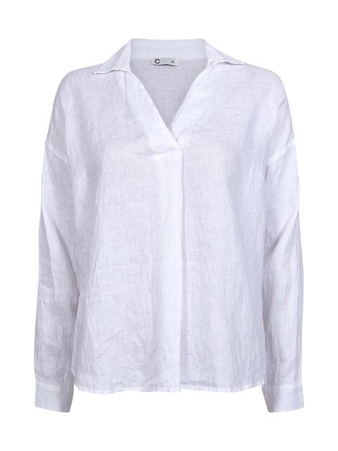 Emilia Linen_Shirt_white