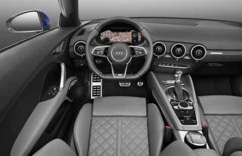 TTR cockpit
