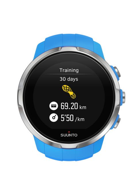 SS022653000 - SPARTAN - Sport Blue - Front View_Training load running 30d