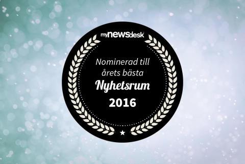 Elfa nominerad till Årets nyhetsrum 2016!