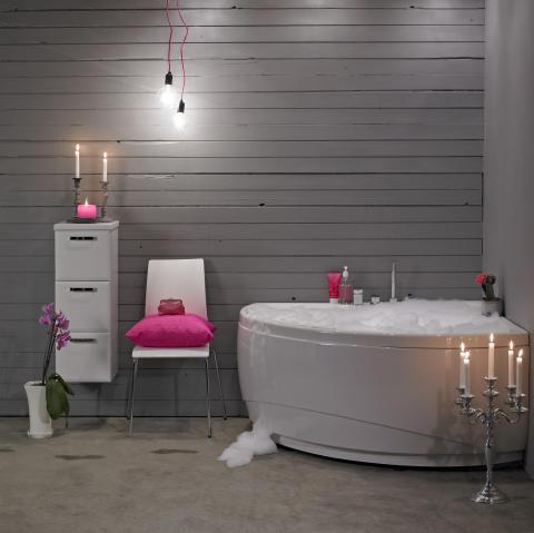 Skånska Byggvaror lanserar framtidens massagebadkar med individuell badupplevelse