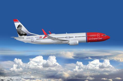 Norwegian lanserer to nye USA-ruter fra Bergen