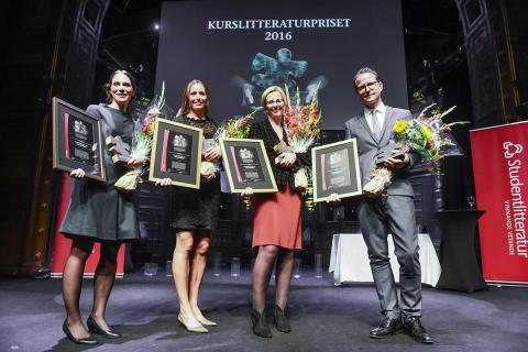 Kurslitteraturpriset 2016 förstapris