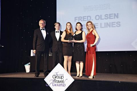 Fred. Olsen Cruise Lines voted 'Best Cruise Line Operator for Groups' in '2013 Group Travel Awards' for third consecutive year
