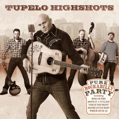 Skivkonvolut Tupelo Highshots - Pure Rockabilly Party