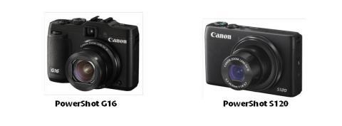 Eksepsjonell hastighet og ytelse – Canon lanserer nye PowerShot G16 og PowerShot S120