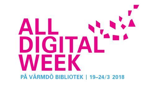All Digital Week Värmdö