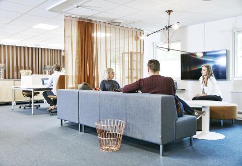 Parker Hannifin valde aktivitetsbaserad arbetsplats (ABW) då kontoren byggdes om