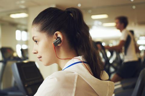 Самые спортивные Bluetooth®-наушники Sony