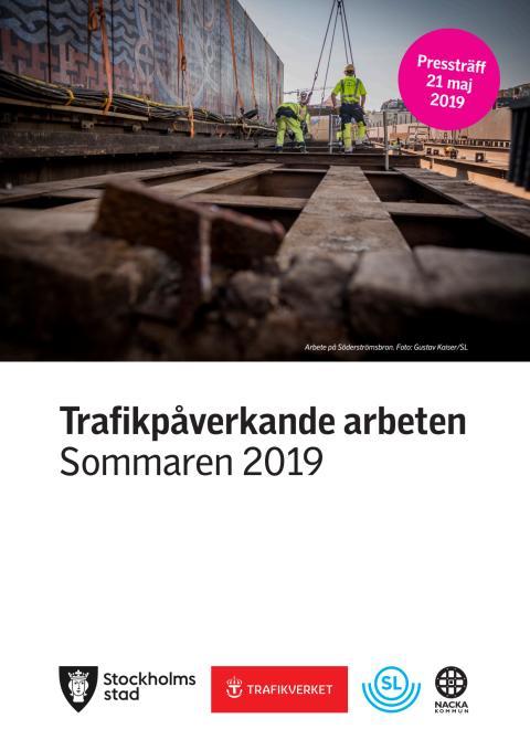 Trafikpåverkande arbeten sommar 2019