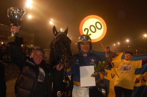 Järvsöfaks 200:e seger