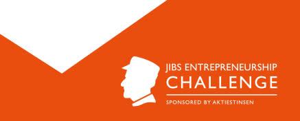 JIBS Entrepreneurship Challenge 2016