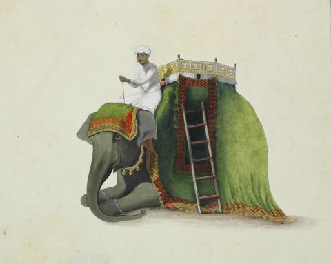 Indiske tegninger og tibetanske thangkaer