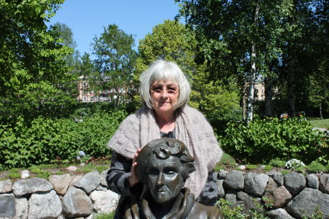 """Barbro Lindgren besökte Junibacken och signerade """"pristagarboken"""" idag!"""