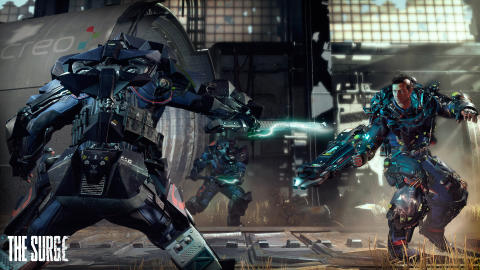 New screenshots for The Surge
