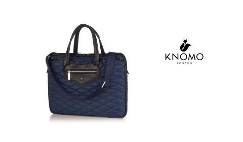 Charlotte – ny, elegant och superlätt laptop-väska från Knomo