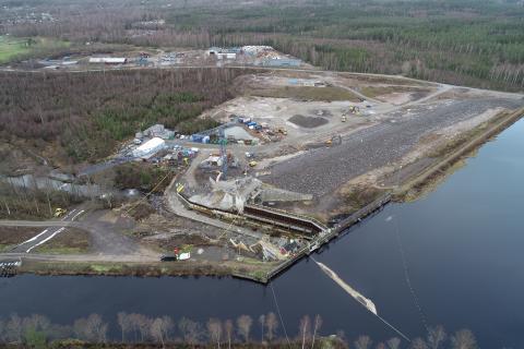 Dammsäkerheten förbättras vid Hylte kraftverk