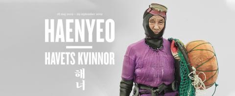 Pressinbjudan till öppningen av Haenyeo – Havets kvinnor på Östasiatiska museet