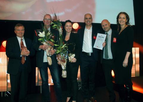 Etantanken i Stenungssund för Veidekkekoncernens årliga HMS-pris