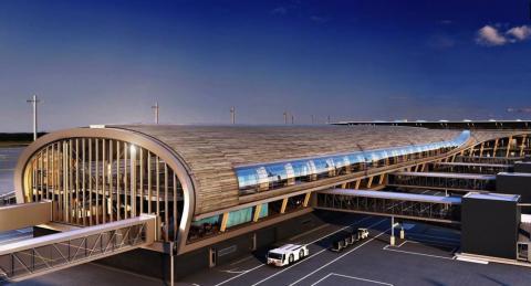 Gardemoen flygplats brandskyddas med Woodsafe Exterior Fire-X.