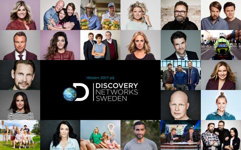 Hösten 2017 på Discovery Networks Sweden