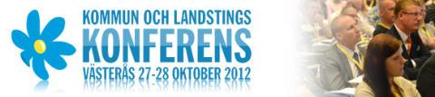 Kommun och landstingskonferens 27-28 oktober i Västerås