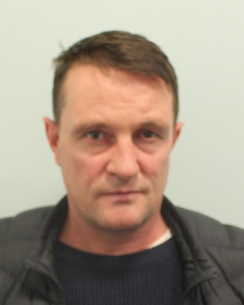 Violent burglar jailed