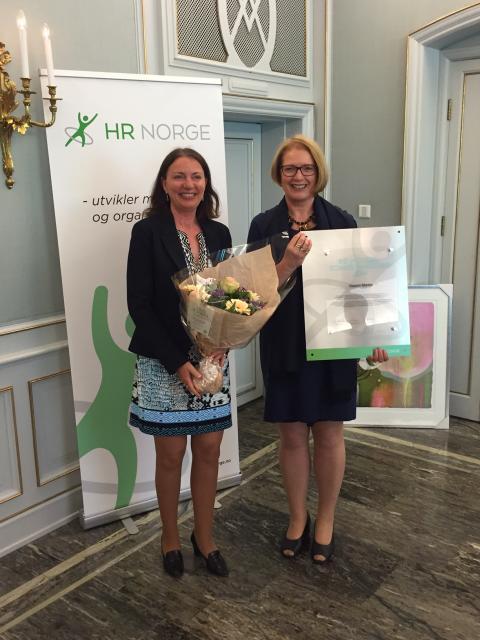 Mottok Kompetanseprisen 2016:  – Sopra Steria best på kompetanse