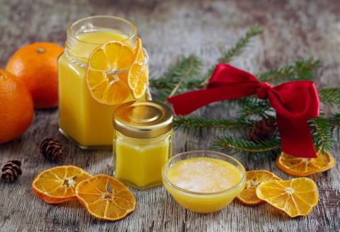 Sitron- og klementincurd