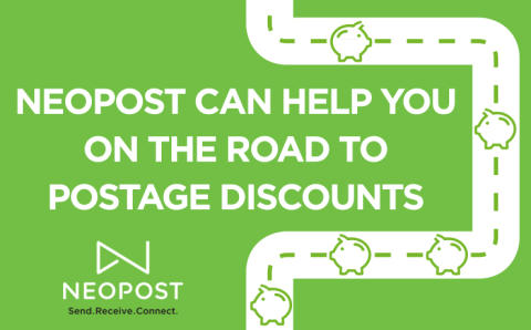 Neopost can help you on the road to postage discounts