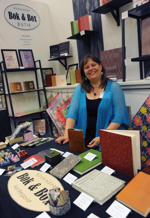 Handtillverkade böcker med personlig prägel på Stora Nolia