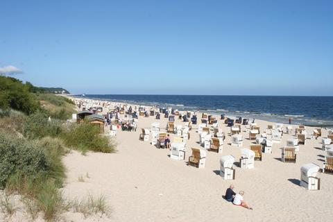 Timmendorfer Strand, Baltic Sea, Germany