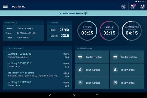 idem telematics: Transportmanagement per App