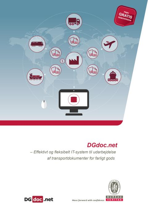 DGdoc - softwareprogram til håndtering af farligt gods og farlige stoffer