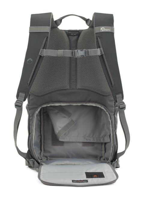 Lowepro Photo Hatchback 22L harmaa auki