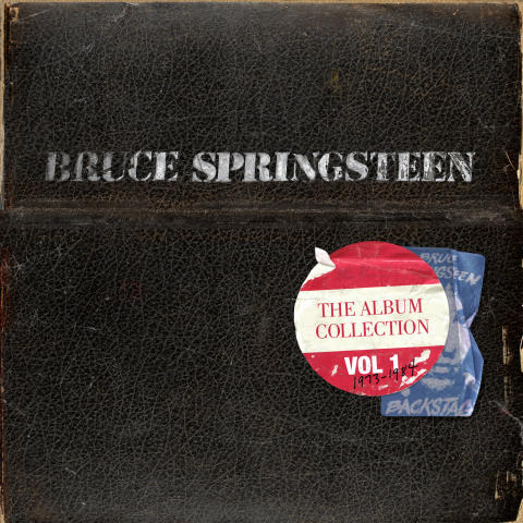 Omslag - Bruce Springsteen - The Album Collection Vol.1 1973-1984