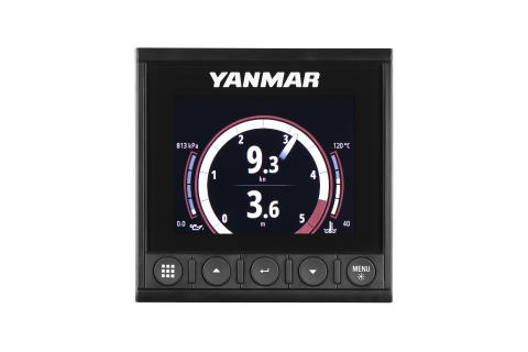 Hi-res image - YANMAR - The new YANMAR YD42 Multi-Function Color Display