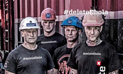 Delete utmanar ebola - #deleteEbola