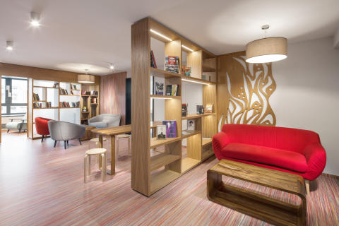 Comfort Hotel Prague City East _Library