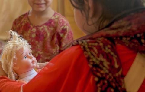 Grovt våld mot barn i Afghanistan