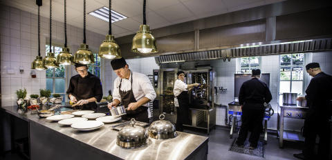 Tidlösa fester i möjligheternas eventlokal - Nytt kök i Stallet kan servera 300 gäster