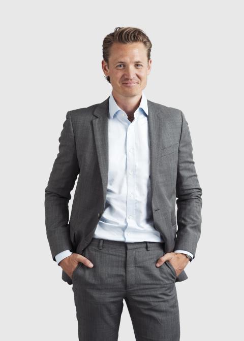 Niklas Adalberth, co-founder and deputy CEO